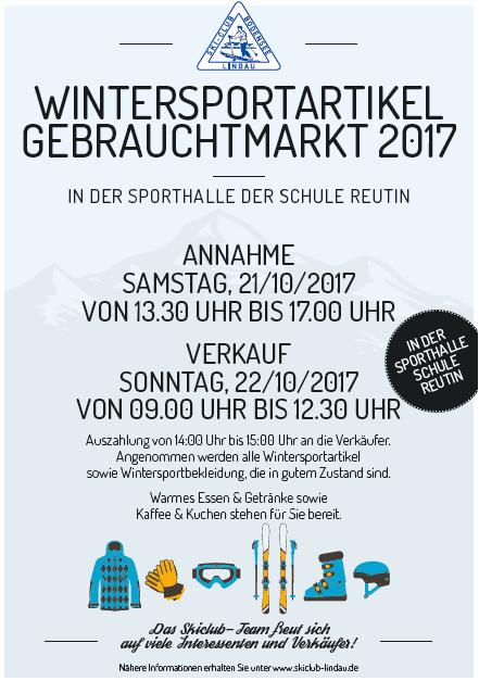 Flyer Skigebrauchtmarkt